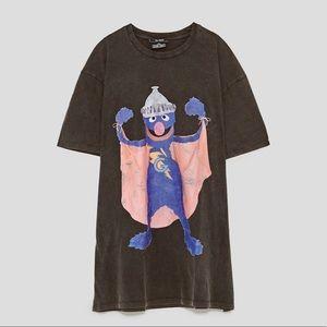 Zara Super Grover T-Shirt